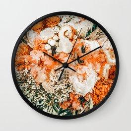 Celeste #vintage #painting Wall Clock