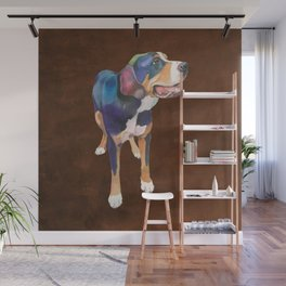 Greater Swiss Mountain Dog Wall Mural
