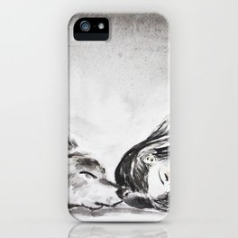 interjection iPhone Case