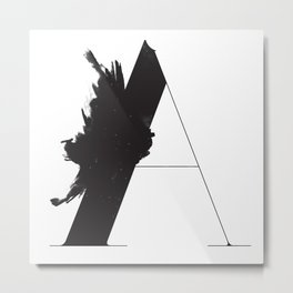 A is for Astronom Metal Print