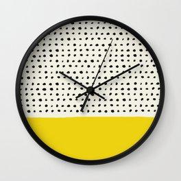 Sunshine x Dots Wall Clock