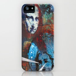 Searching for Mona iPhone Case
