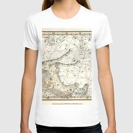 Pegasus Constellation Celestial Atlas Plate 12, Alexander Jamieson T-shirt