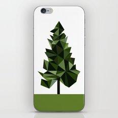 Poly geometric trees iPhone & iPod Skin