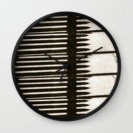 Picket Line Wall Clock