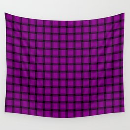 Small Purple Violet Weave Wall Tapestry