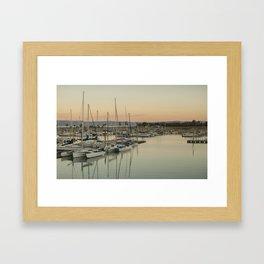 Bear Lake Marina Framed Art Print