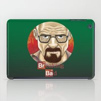 walter white iPad Cases featuring Walter White  by gunberk