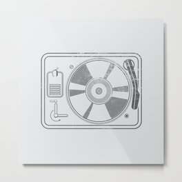 Recorder Player Metal Print