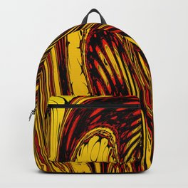 Melted abstract art Backpack