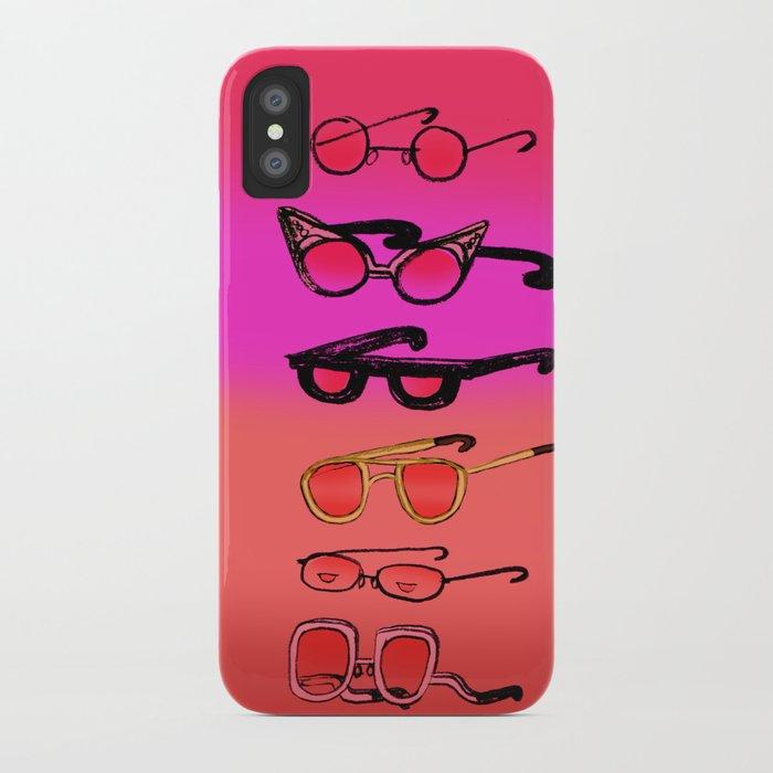Nostalgia Glasses iPhone Case