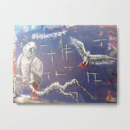 Bird HOPE Wall Metal Print