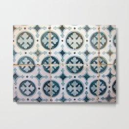 Portuguese tile 6 Metal Print