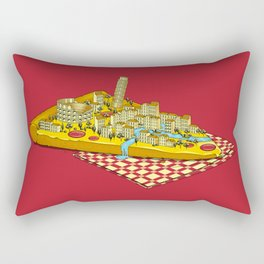 Hungry for Travels: Slice of Italy Rectangular Pillow
