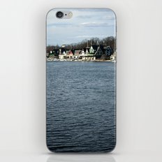 Boathouse Row iPhone & iPod Skin