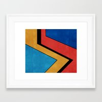 road Framed Art Prints featuring Road by Nope