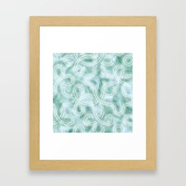 Knotty Abstract Framed Art Print