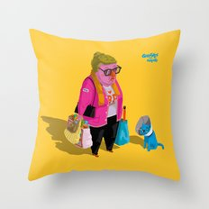 Greetings from Hungary Throw Pillow