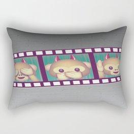MONKEYING AROUND Rectangular Pillow