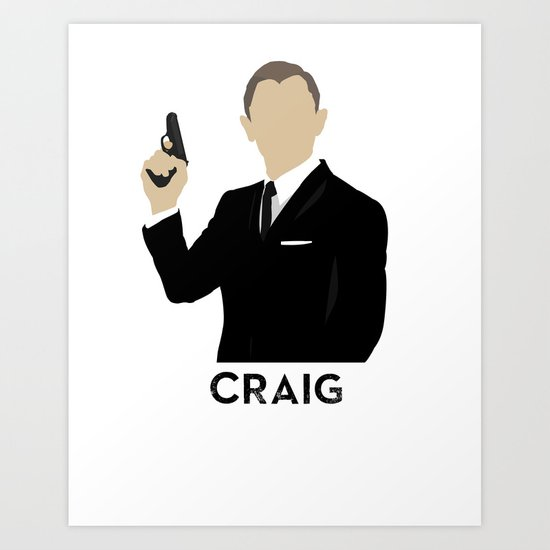 Craig Art Print
