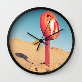 Beach Guardian Wall Clock