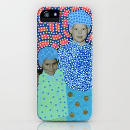 Blue Minty Friendship iPhone Case