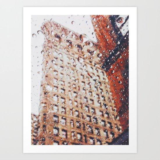 New York City Rain Art Print