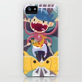 Fish Kid iPhone Case
