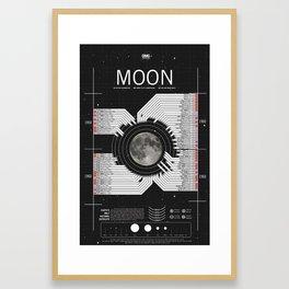 OMG SPACE: Moon 1950 - 1960 Framed Art Print