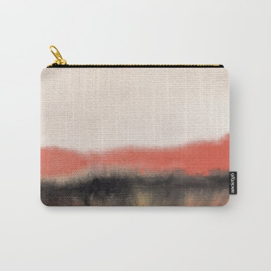 Watercolor abstract landscape 07 Carry-All Pouch