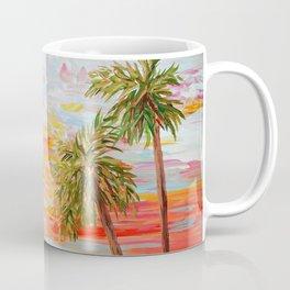 California Coast Sunset Coffee Mug