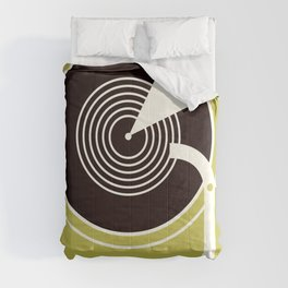Vintage Record Player Comforters