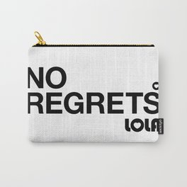 No Regrets Carry-All Pouch