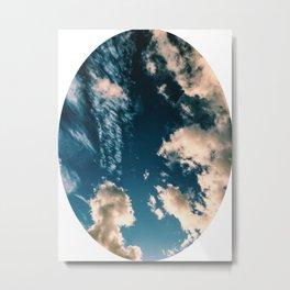 Sky Circle Metal Print