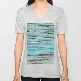 Color gradient and texture 33 Unisex V-Neck
