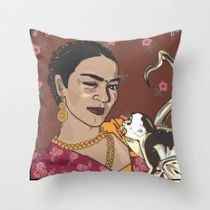 Frida- Pasión por La Vida Throw Pillow