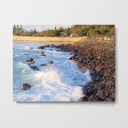Duranbah Beach Metal Print
