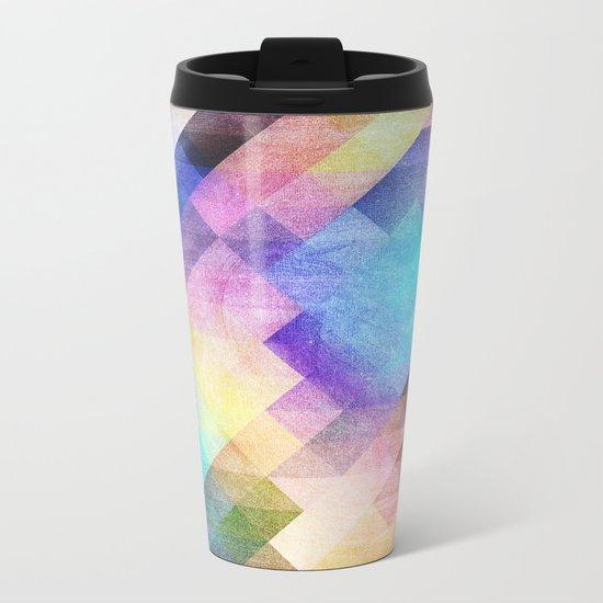 Pattern 10 Metal Travel Mug