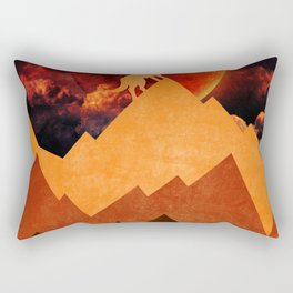 Golden Nighter Rectangular Pillow