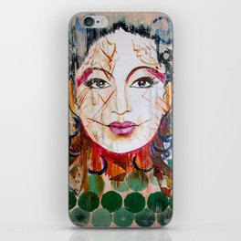 The undefined beauty iPhone Skin