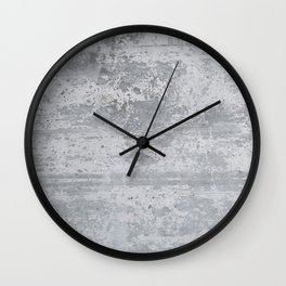 Concrete Stone Design Pattern Wall Clock