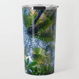 Giant ferns in redwood forest, Rotorua, New Zealand Travel Mug