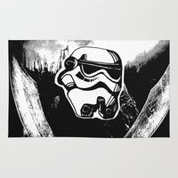 stormtrooper Area & Throw Rugs featuring Stormtrooper  by Chuchuligoff