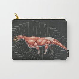 Shringasaurus Indicus Muscle Study Carry-All Pouch