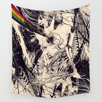 data Wall Tapestries featuring Envision by nicebleed