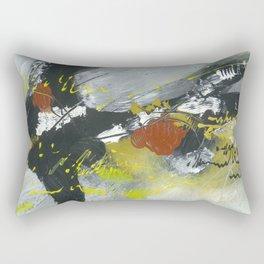 Colours of my mind by Australian Artist Vidy Potdar Rectangular Pillow
