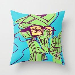 Ganjaman Throw Pillow
