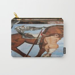 Professor Harvard on the Family painting by Jes Fuhrmann  Carry-All Pouch