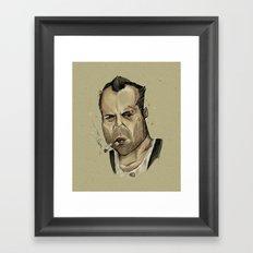 Die Hard - John McClane Framed Art Print
