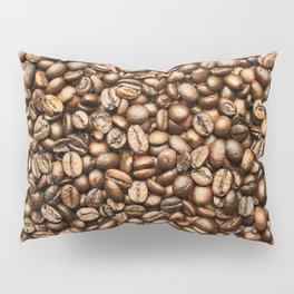 Roasted Coffee Beans Pillow Sham